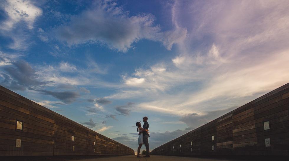 austin-pfluger-bridge-engagement-photo