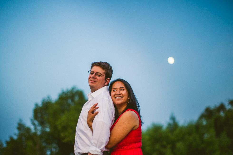 13-lady-bird-lake-boardwalk-engagement-photographer-dusk-moon