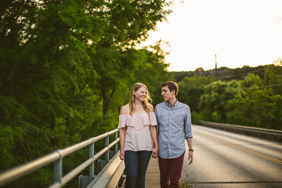 13-red-bud-isle-austin-engagement-photography-walking-couple-photos
