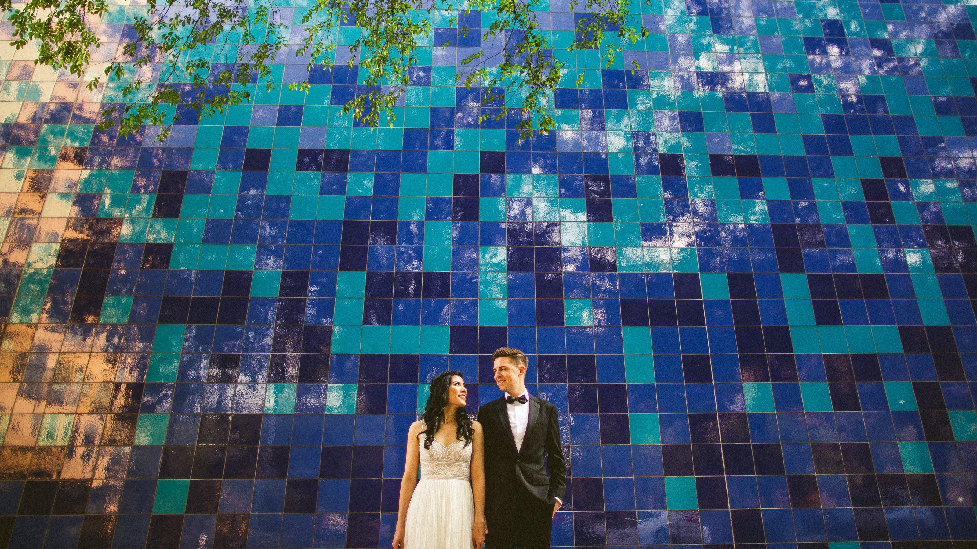 Palm Door on Sixth Wedding // Mindy & Bil