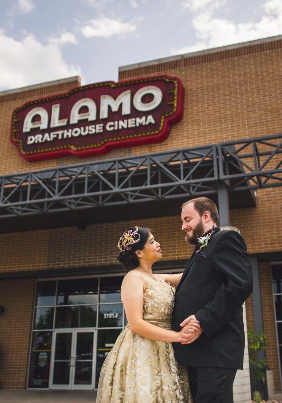 Alamo Drafthouse Wedding // Addy & Ben