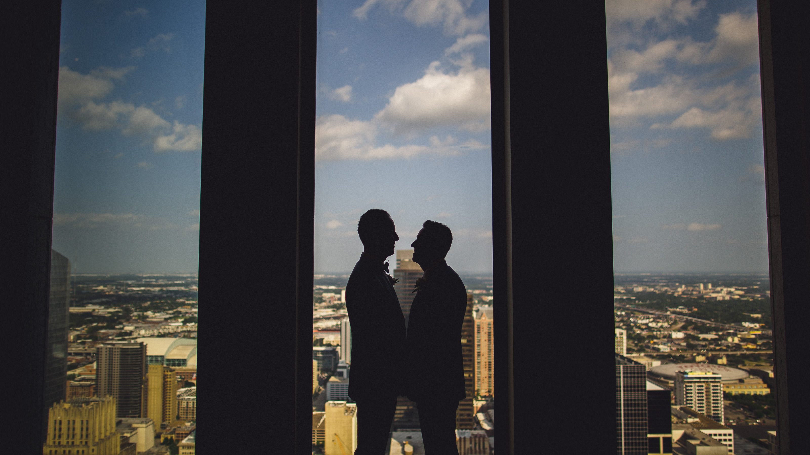 Houston Club Wedding // Daniel and John