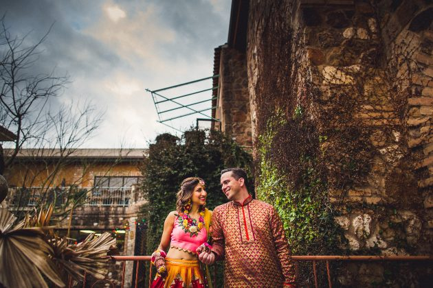 Austin Sangeet Ceremony at The Oasis // Annie & Dominic