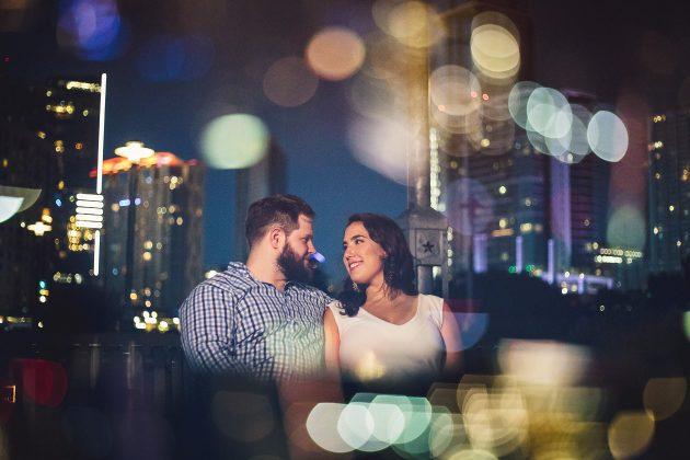 Downtown Austin Engagement // Lea and James