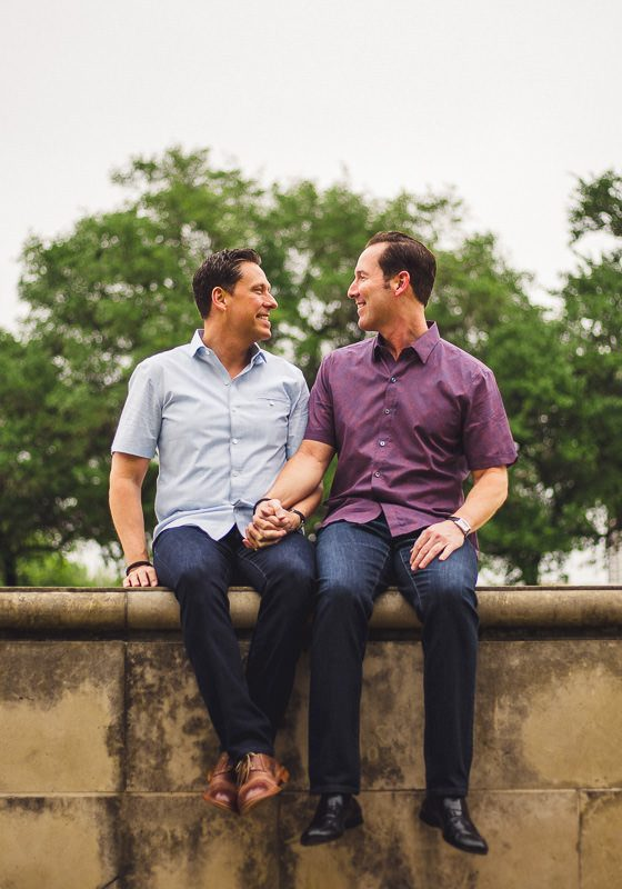 Downtown Houston Engagement // Daniel & John