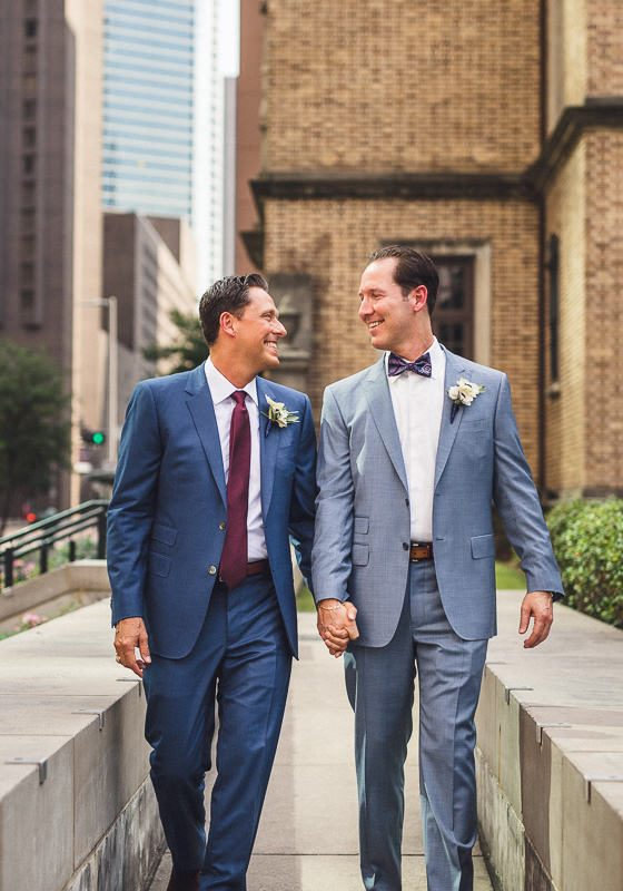 Houston Club Wedding // Daniel and John