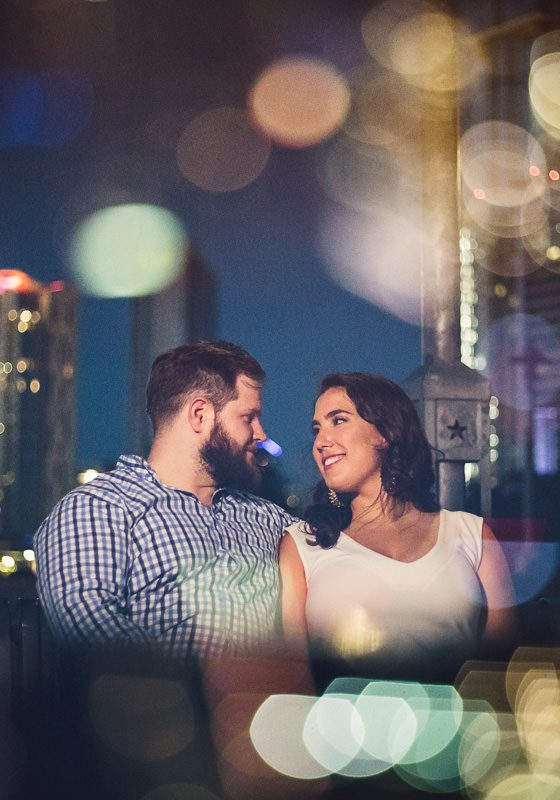 Downtown Austin Engagement // Lea and James